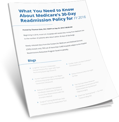 What You Need to Know About Medicare's 30-Day Readmission Policy for FY 2016