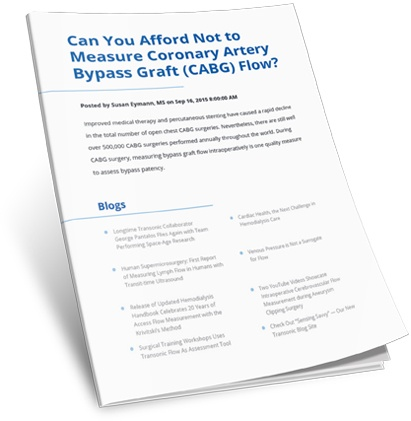 Can You Afford Not to Measure Coronary Artery Bypass Graft (CABG) Flow?